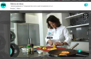 Marta Sebares en rtve.es en la Fábrica de ideas